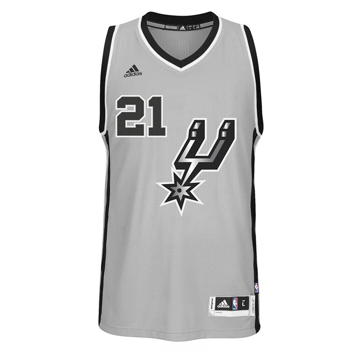 ... official store nba mens tim duncan san antonio spurs climacool  alternate gray swingman jersey 7470 on b257207d5