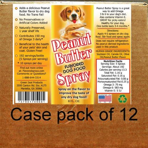 Dog Food Flavor Spray 128...