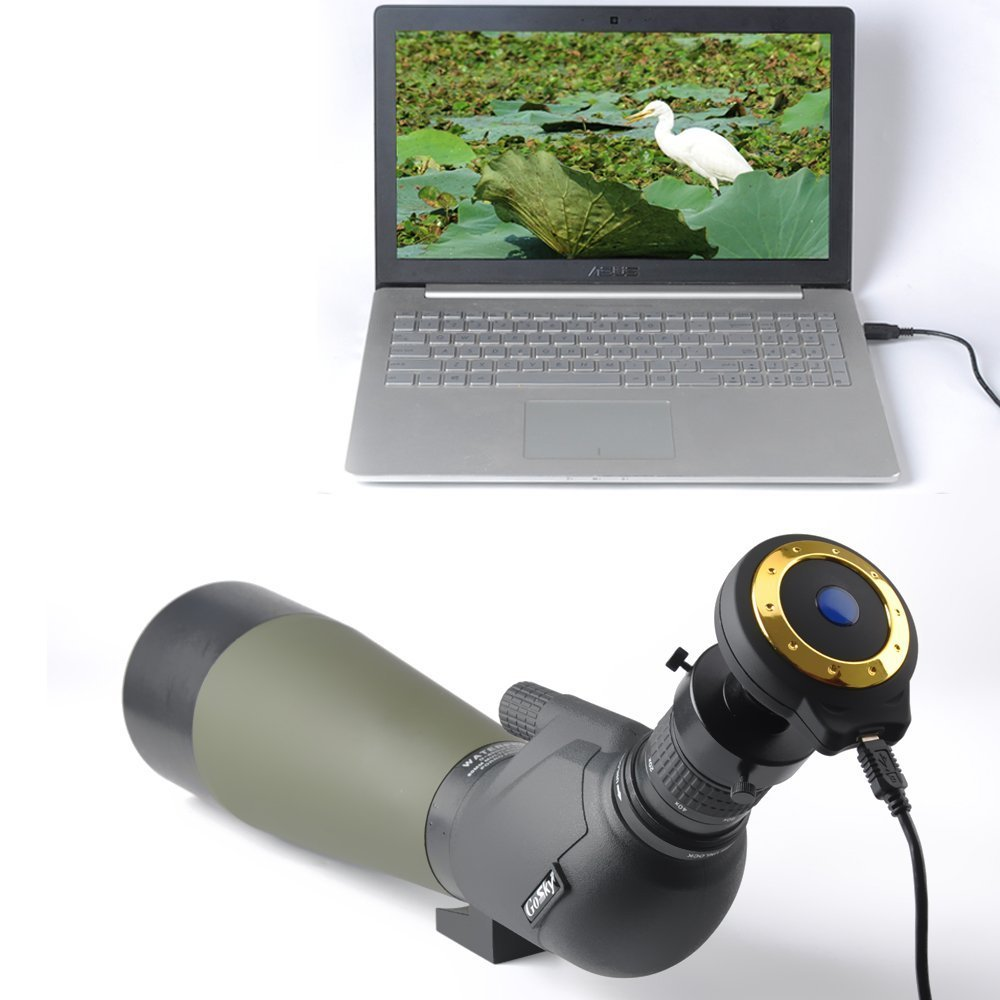 Telescope Digital Eyepiece Camera for Astrophotography and Observation - with USB Port & Image CMOS Sensor (for Spotting scope)