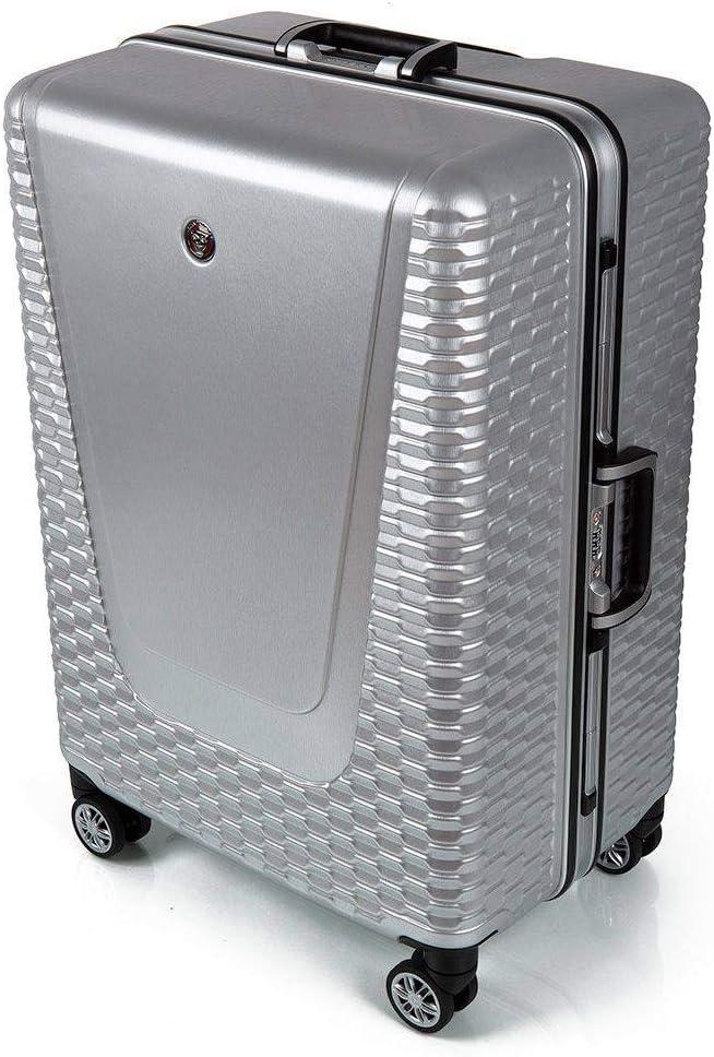 Jaguar Hard Case Maleta 76 Centimeters 94 Plateado (Aluminium)