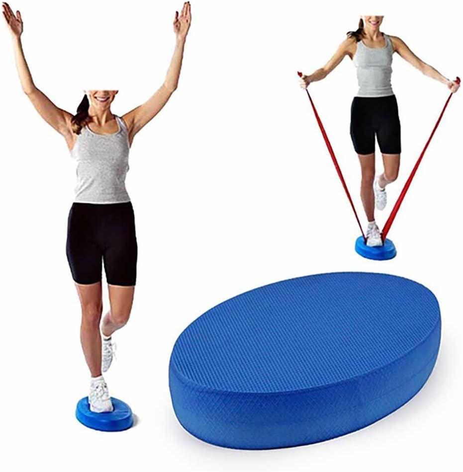 Oval Schaumstoff Balance Board Koordination Matte rutschfest Yoga Fitness /Übung Kissen Stabilit/ät Turnschuhe f/ür Pysisch Therapie//Pilates Rehabilitation//Balance Training Dengofng Balance Pad