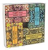 Exoliating Gardener Shea Butter Soap Sampler - Boxed Set of 4 Assorted Scents Bundle 2 offers