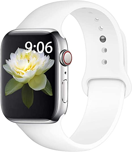 Straper Correa Apple Watch 42mm Apple Watch Series 4 44mm Silicona Correas Reloj Apple Watch Pulsera para iWatch Apple Watch Serie 3 Serie 2 Serie 1 ...