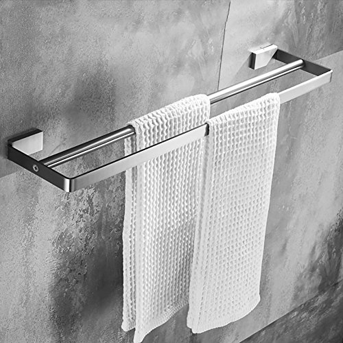YAOHAOHAO Bath rooms shelf towel holder/304 stainless steel towel ...