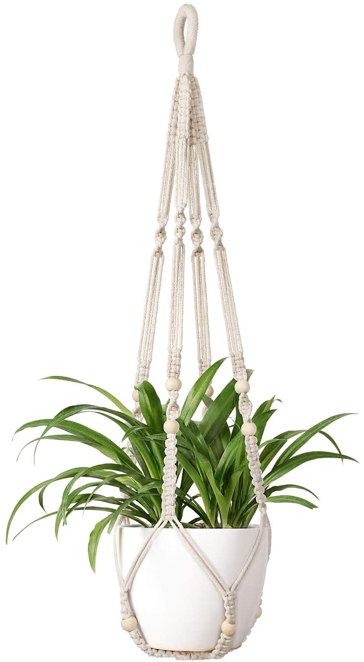 Macrame Indoor Hanging Flower Pot