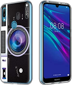 Yoedge Funda Huawei Y6 2019, Ultra Slim Cárcasa Silicona ...
