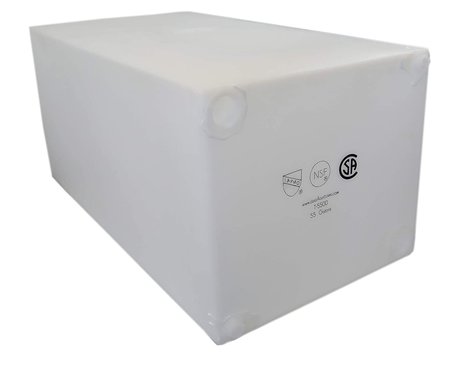 Class A Customs 55 Gallon Fresh Water Holding Tank NSF/FDA Approved BPA Free T-5500