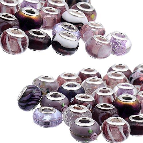 Glass Bead Bangle - 9