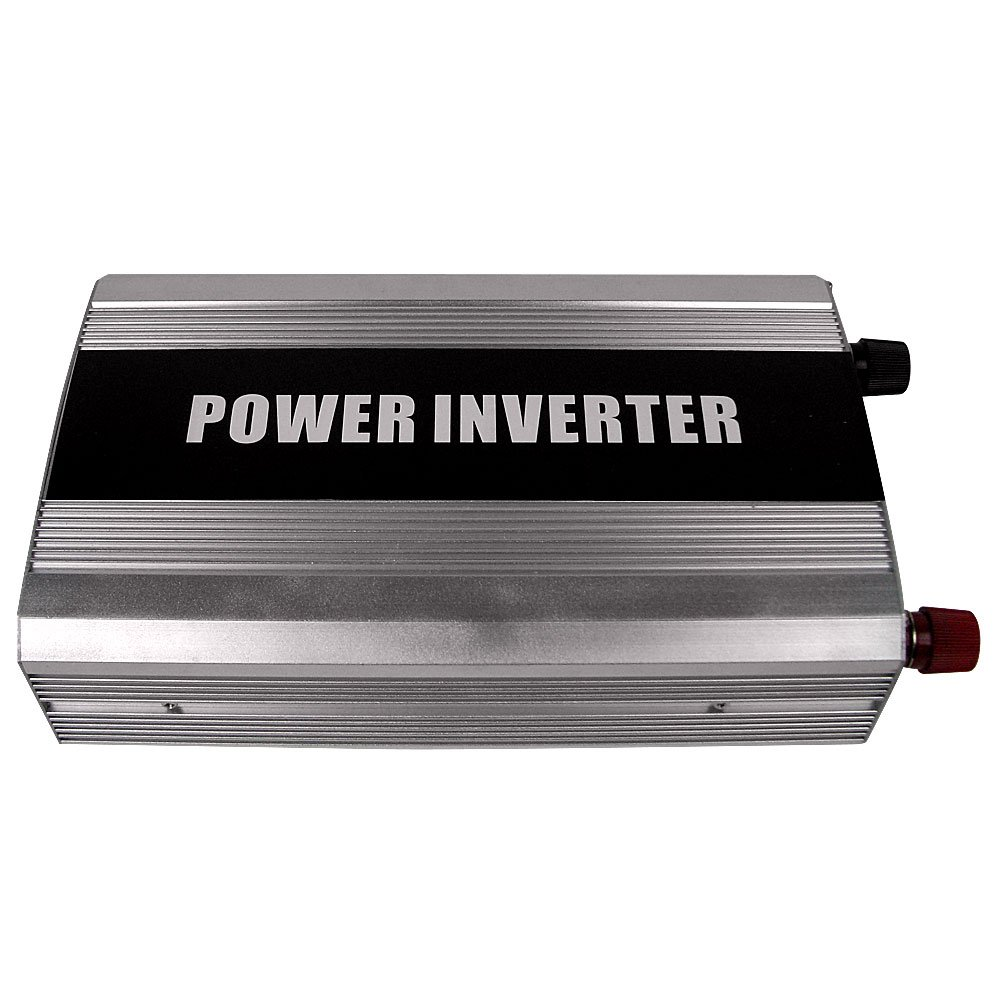 Trademark Tools 75-10008 1000 Watt DC to AC Power Inverter with Two Ground Outlets
