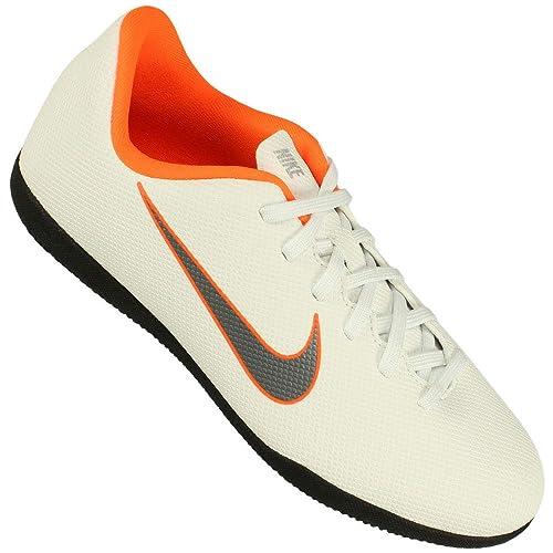 Nike Mercurial Vapor X 12 Club IC JR AH7354 1, Botas de fútbol Unisex niños, Mehrfarbig (Indigo 001), 34 EU: Amazon.es: Zapatos y complementos