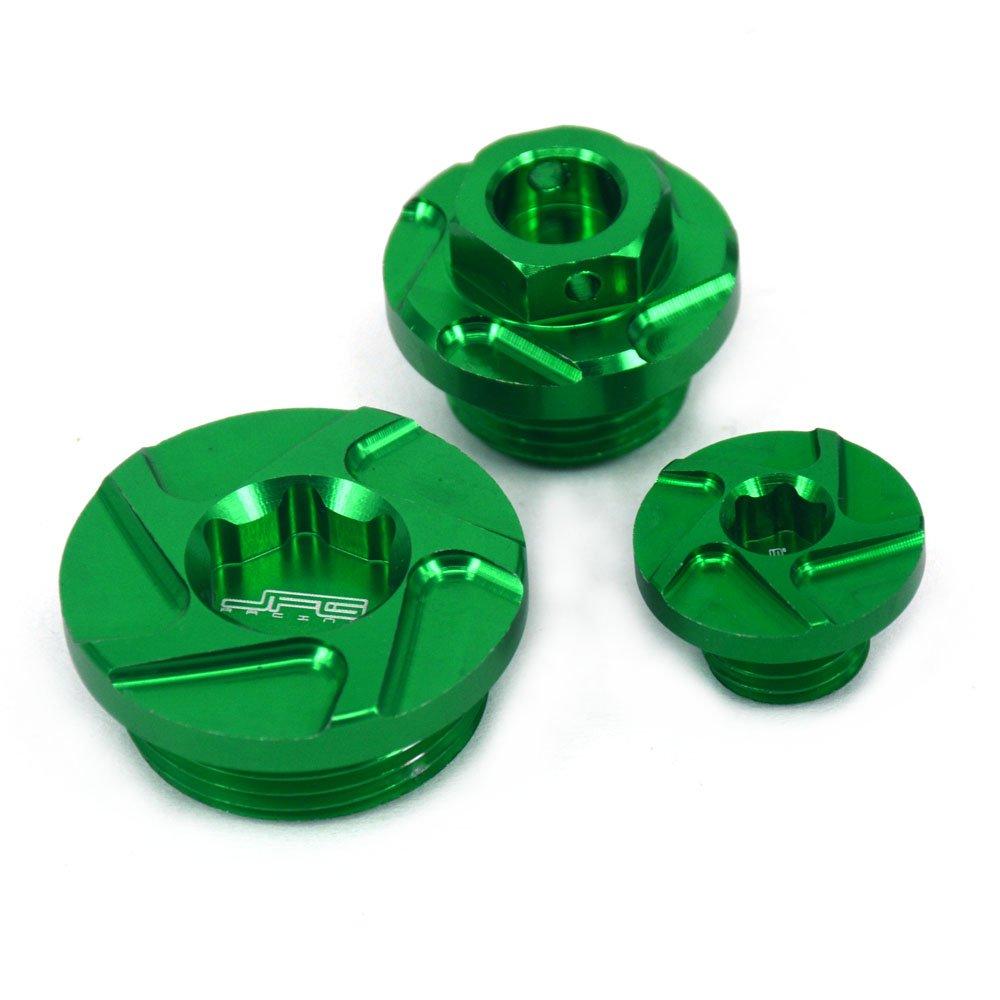 Fast Pro color rojo Tapones de aceite para motor de billete para Honda CRF150R 07-16 CRF250R 10-16 CRF450R 02-16 CRF450 X 05-16