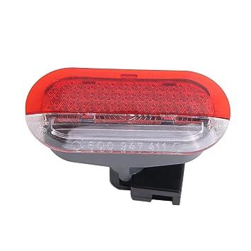 Cozymoon - Lámpara de Luz Interior Intermitente de Advertencia para Panel de Puerta de Coche apto a VW ...