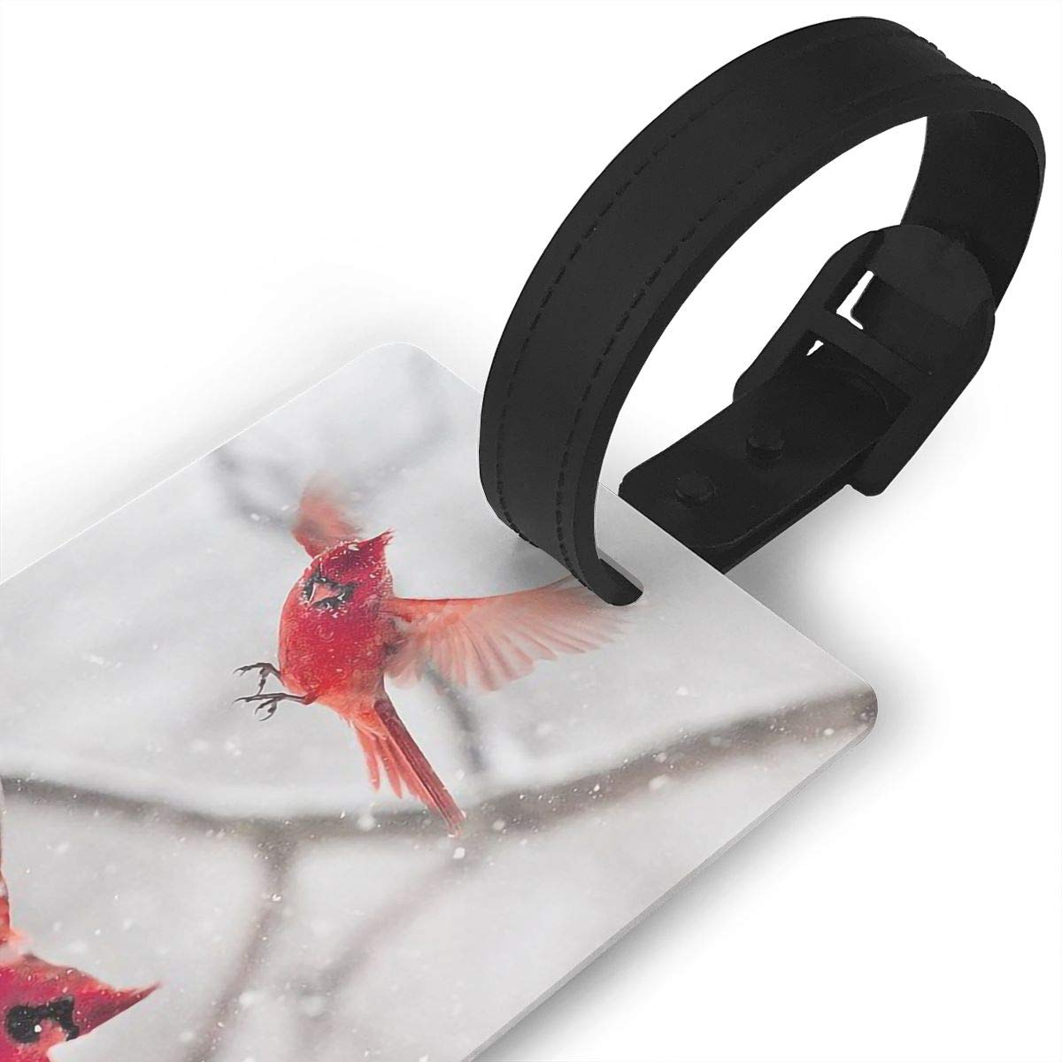 2 Pack Luggage Tags Cardinals Bird Cruise Luggage Tag For Suitcase Bag Accessories
