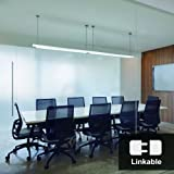 Linkable 4ft LED Utility Shop Light with Plug