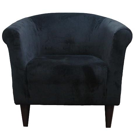 Outstanding Liam Barrel Chair Barrel Accent Chair Black Short Links Chair Design For Home Short Linksinfo