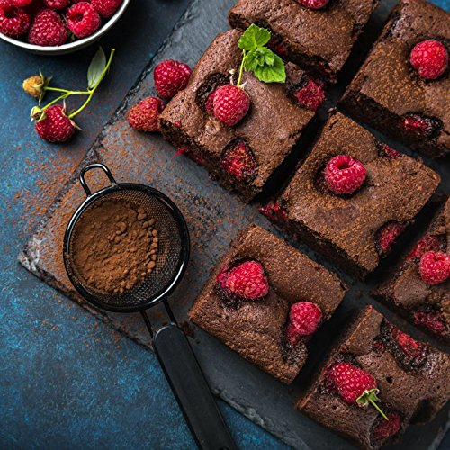 Sasa Demarle Square Professional Silicone Brownie Mold - 10'' x 10'' x 1.8'' - 220 x 220 mm | Prof. Depth 46 mm | Vol. 222 cl by Sasa Demarle (Image #1)