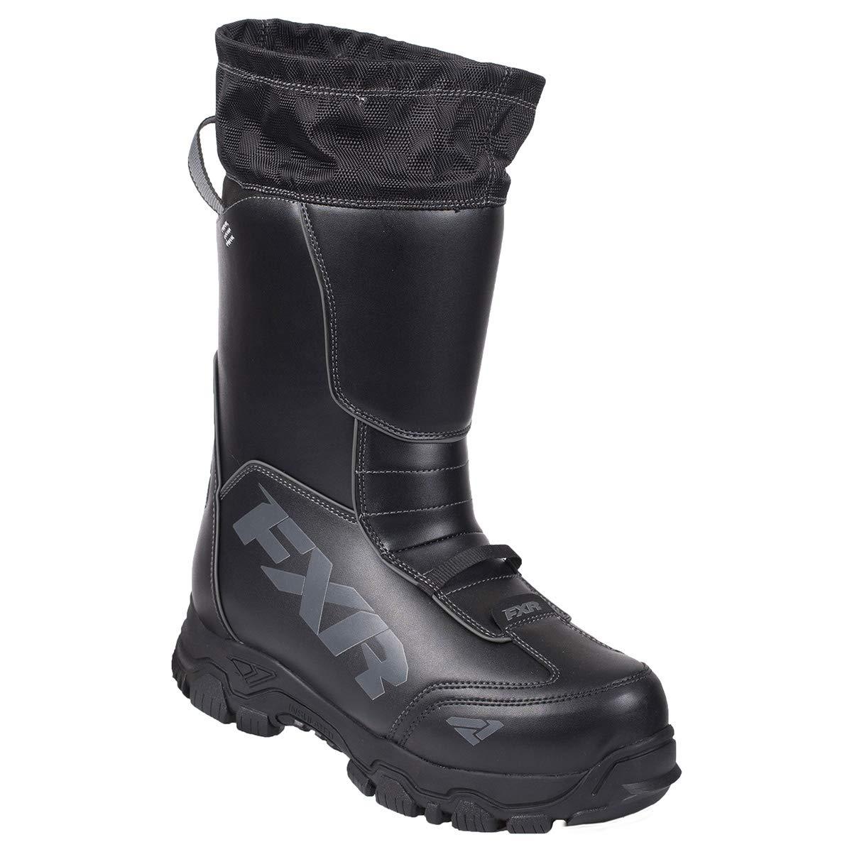 FXR Womens Excursion Boot Black//Fuchsia, Womens 11 // EU42