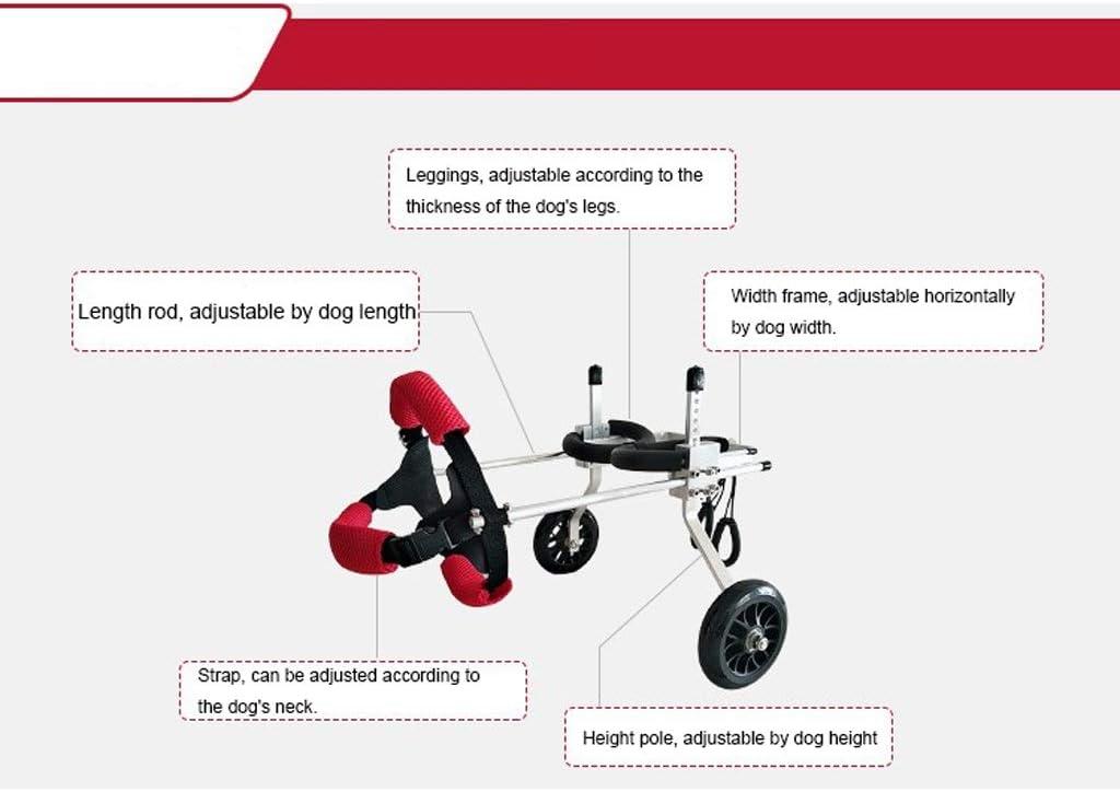 Dog wheelchair Silla de ruedas para perros Arnés de movilidad para ...