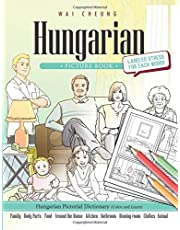 Hungarian Picture Book: Hungarian Pictorial Dictionary (Color and Learn)