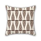 PILLO geometry pillowcase 16 x 16 inches / 40 by 40 cm for father,husband,christmas,dance room,sofa,chair with twin sides