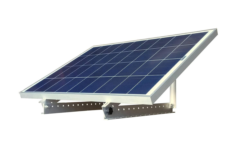 WindyNation 100 Watt 100W 12V 12 Volt Solar Panel Battery Charger Adjustable Solar Mount Rack Bracket RV, Boat, Off Grid