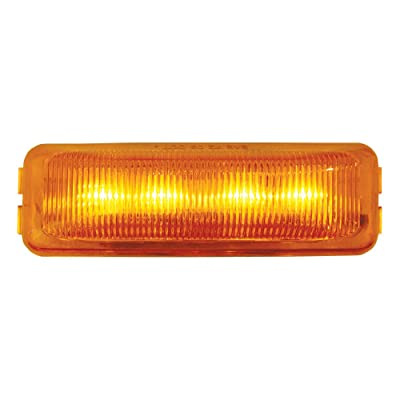 GG Grand General 84440 Medium Rect. Amber/Amber 4-LED Marker Light: Automotive