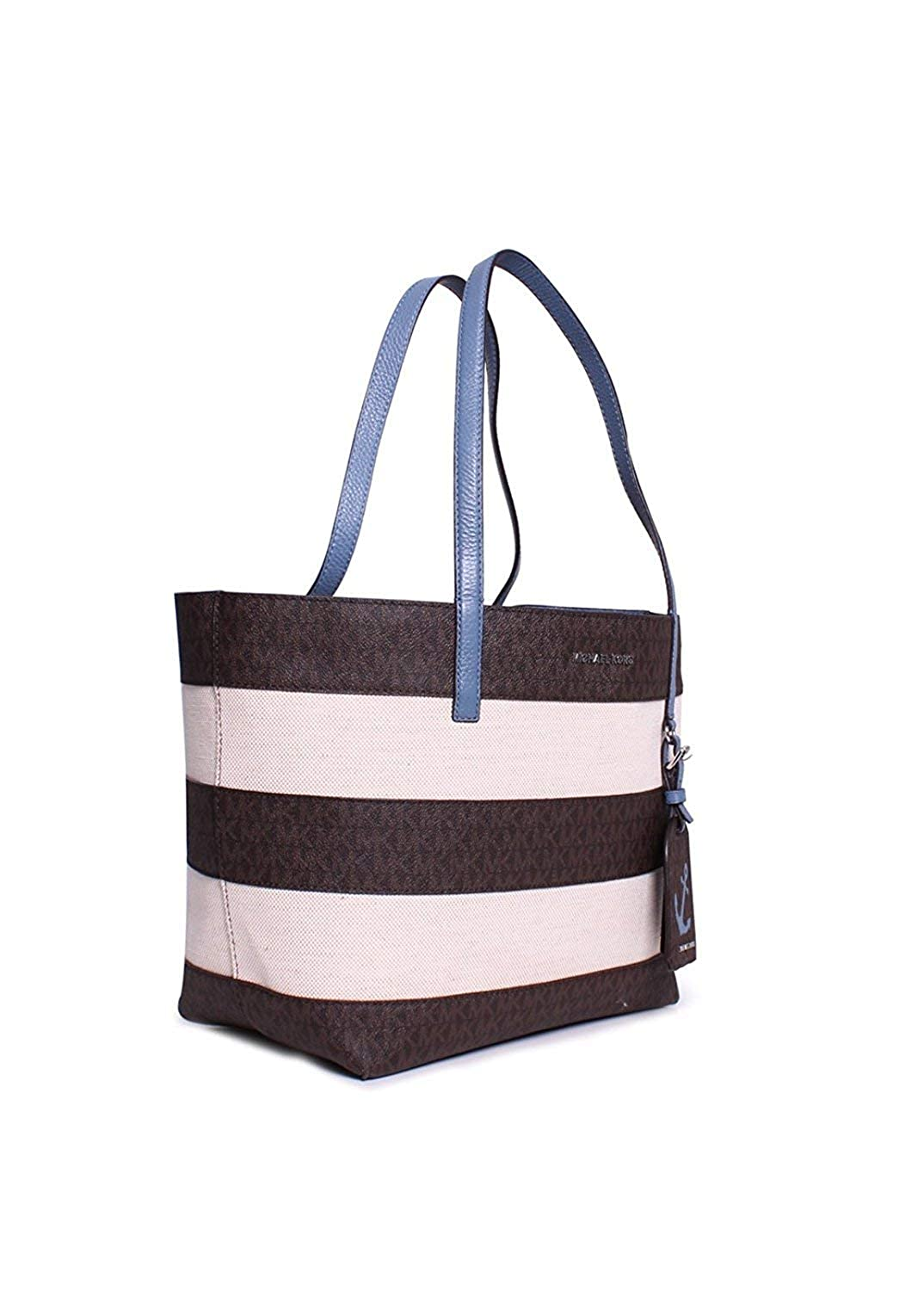 0ad451acf1b4 MICHAEL Michael Kors Striped Large East West Tote