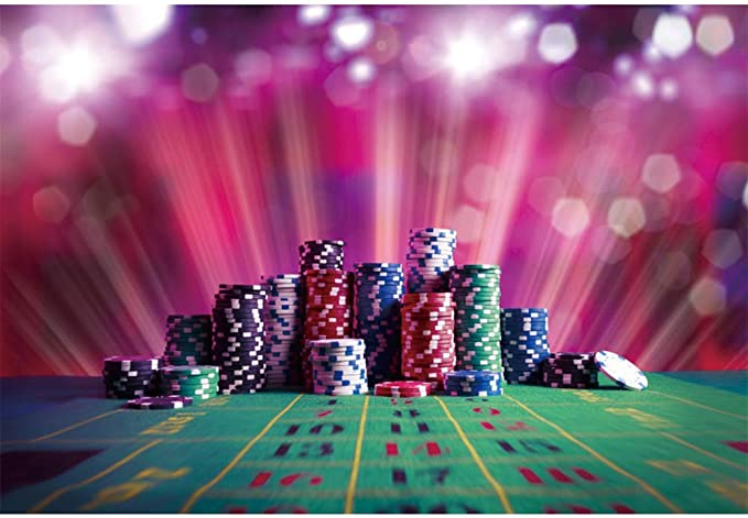 2.1x1.5m Poker Chips Background Party Decor Supplies Photo Shooting Props BJQQST115 Zhy Las Vegas Casino Backdrop for Photography 7x5ft