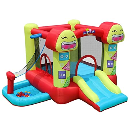 Castillos hinchables for niños tobogán pequeño al Aire Libre ...