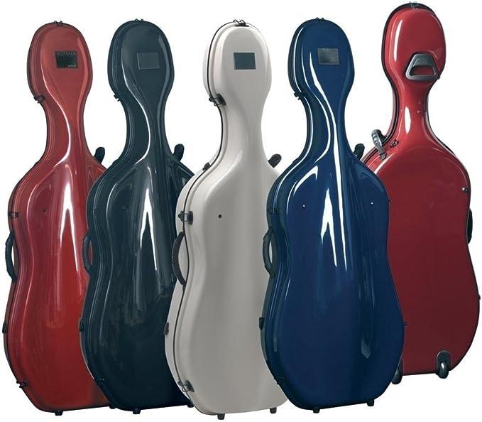 Gewa Estuche para Violonchelo, Idea Futura ROLLY - Azul nocturno/Azul: Amazon.es: Instrumentos musicales