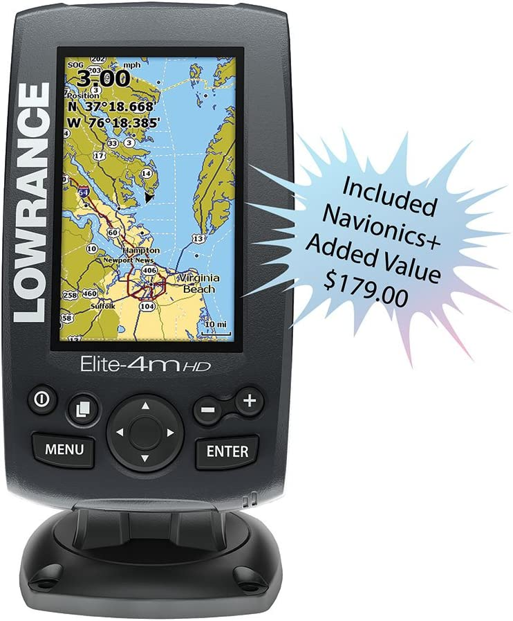 000-11294-001 Lowrance Elite-4m HD plotter Oro: Amazon.es: Deportes y aire libre