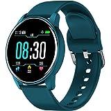 BONKEEY Reloj Inteligente, Smartwatch Mujer Hombre Monitor de Ritmo Cardíaco Presión Arterial y Oxígeno en la Sangre Reloj De