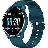 BONKEEY Reloj Inteligente, Smartwatch Mujer Hombre Monitor de Ritmo Cardíaco Presión Arterial y Oxígeno en la Sangre…