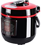 Aobosi6Qt 8-in-1Multi-functional ElectricPressureCooker,Slow Cooker,RiceCooker,Yogurt Maker,Warmer,Free Steamer Rack, Cookbook and Extra Sealing Ring |Food Grade Stainless Steel Cooking Pot