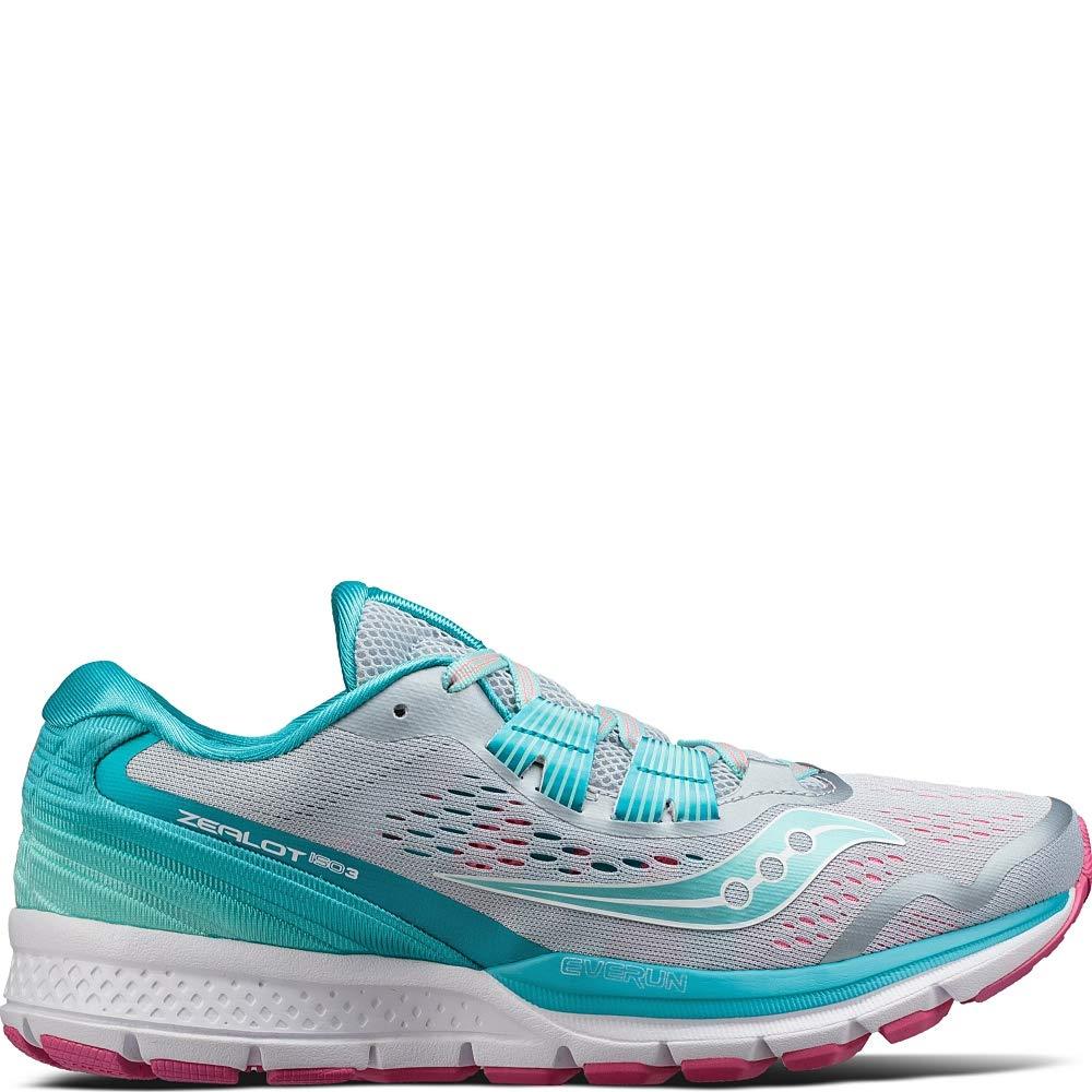 grigio blu Saucony Wouomo Zealot ISO 3 Ankle-High correrening sautope