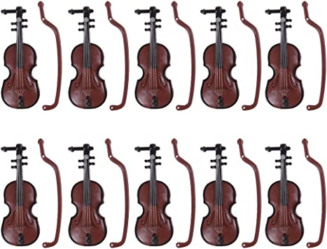 1:12 Dollhouse Miniature Violin Musical Instruments Collection DIY Decor Gif/_zr