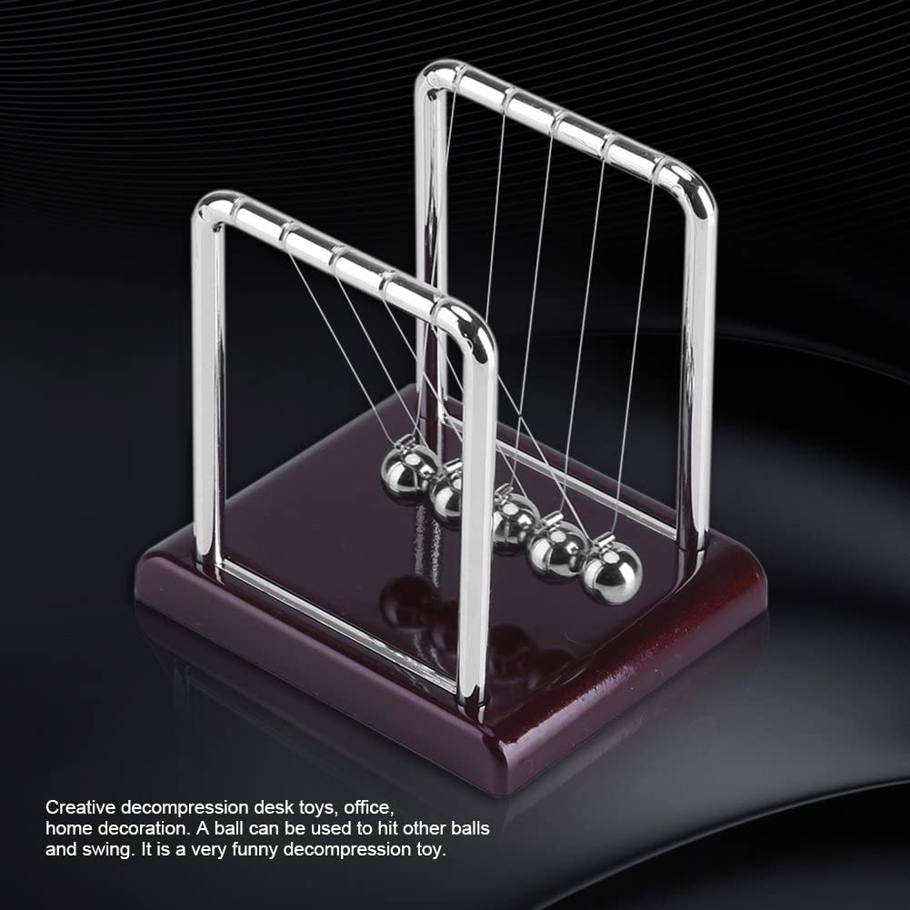 5 Gravity Solid Swing Balls Physical Science Law Balance Ball Desktop Toys Gift