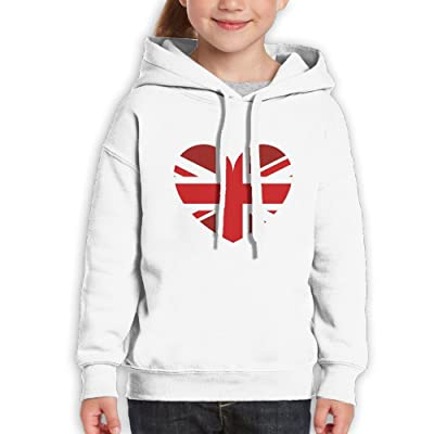 DTMN7 Red UK Fashion Printed Crew Neck Top For Kids Unisex Spring Autumn  Winter 5ebdc6dbb