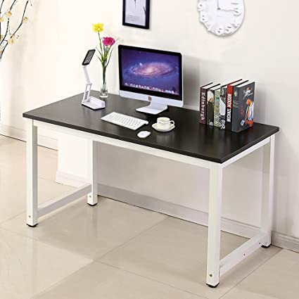 home office study furniture. Mecor Computer Desk PC Laptop Table Work-Station Home Office Furniture Black Study