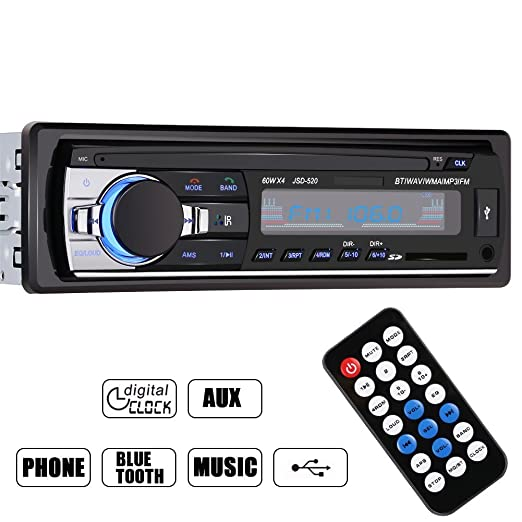 256 opinioni per GHB Autoradio Bluetooth Auto Stereo Audio Ricevitore In-Dash Radio FM MP3 Player