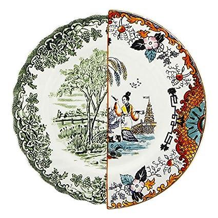 Hybrid Ipazia 10.8u0026quot; Porcelain Dinner Plate  sc 1 st  Amazon.com & Amazon.com | Hybrid Ipazia 10.8