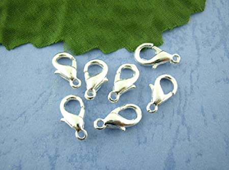 20 x 14mm Gold Plated Lobster Clasps Claw
