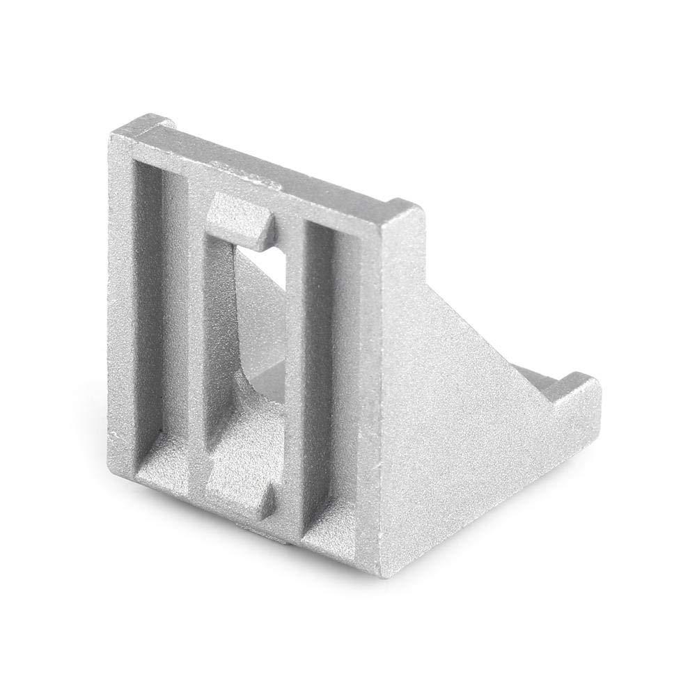 5pcs 3060 Aluminiumlegierung L Form Eckverbinder rechtwinklig Eckverbinder Fastener 40x40mmx35mm