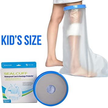 Amazon Com Reusable Kids Leg Cast Cover With Waterproof Seal