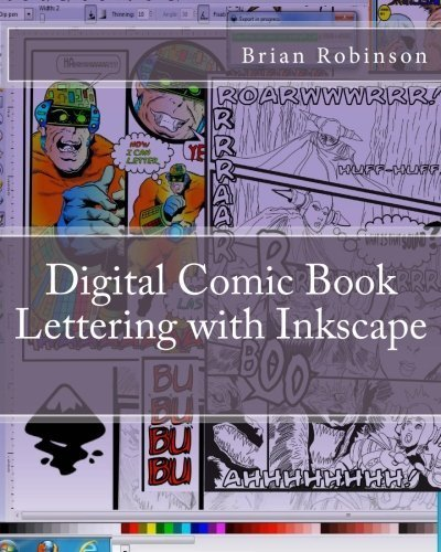 Ebook Digital Comic Book Lettering With Inkscape Free