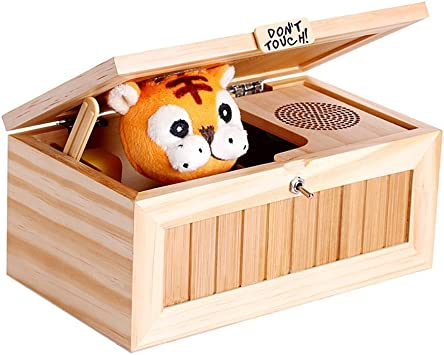icase4u Dont Touch Cartoon Tiger Inútil Caja Useless Box Creativo ...