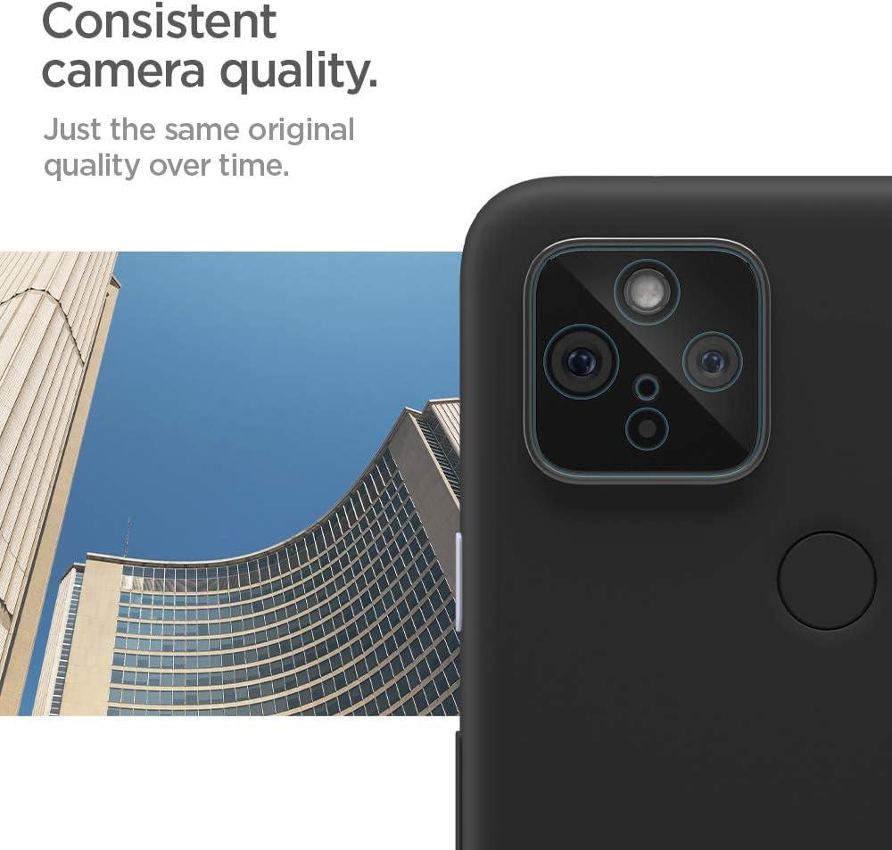 5G Spigen Camera Lens Screen Protector Glas.tR Optik Designed for Pixel 4a