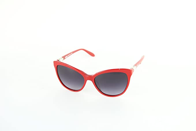 Moschino MO-827S-03 Gafas de Sol, Red, 57 para Mujer: Amazon ...