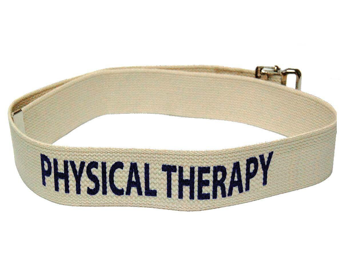 Kinsman Enterprises 80736 Department Labeled Gait Belt, Physical Therapy, 2'' Width, 72'' Length, #8 Natural