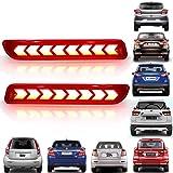 Kingsway Rear Bumper LED Reflector Light for Maruti Suzuki (Type - A)